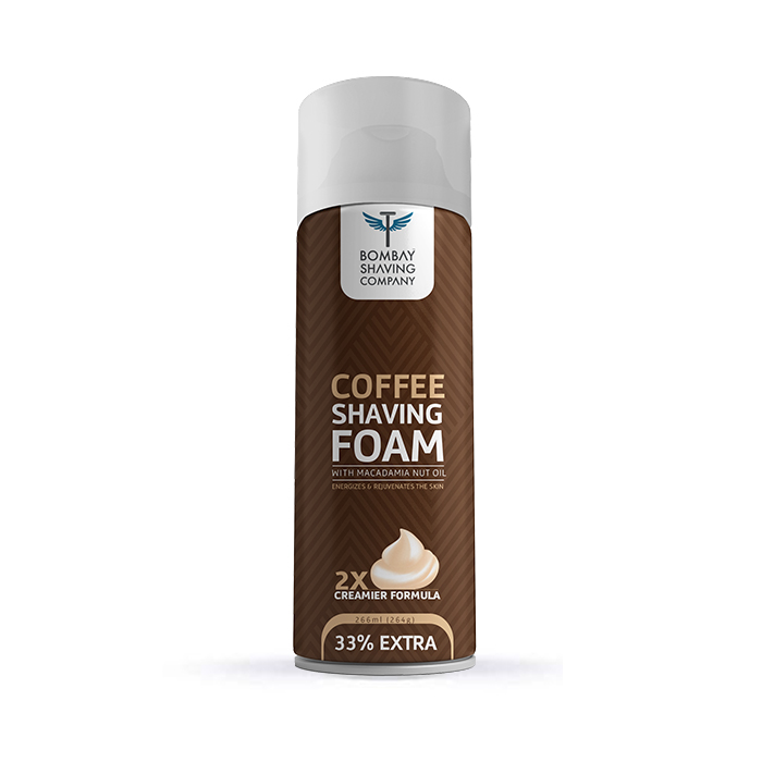 Bombay Shaving Company |  Coffee Shaving Foam,266 ml (33% Extra)