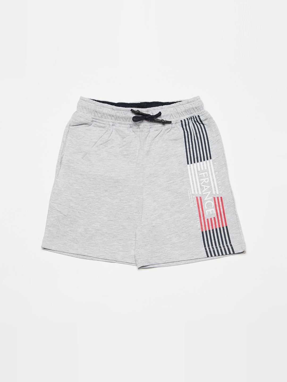 OCTAVE | Boys GREY MELANGE Shorts