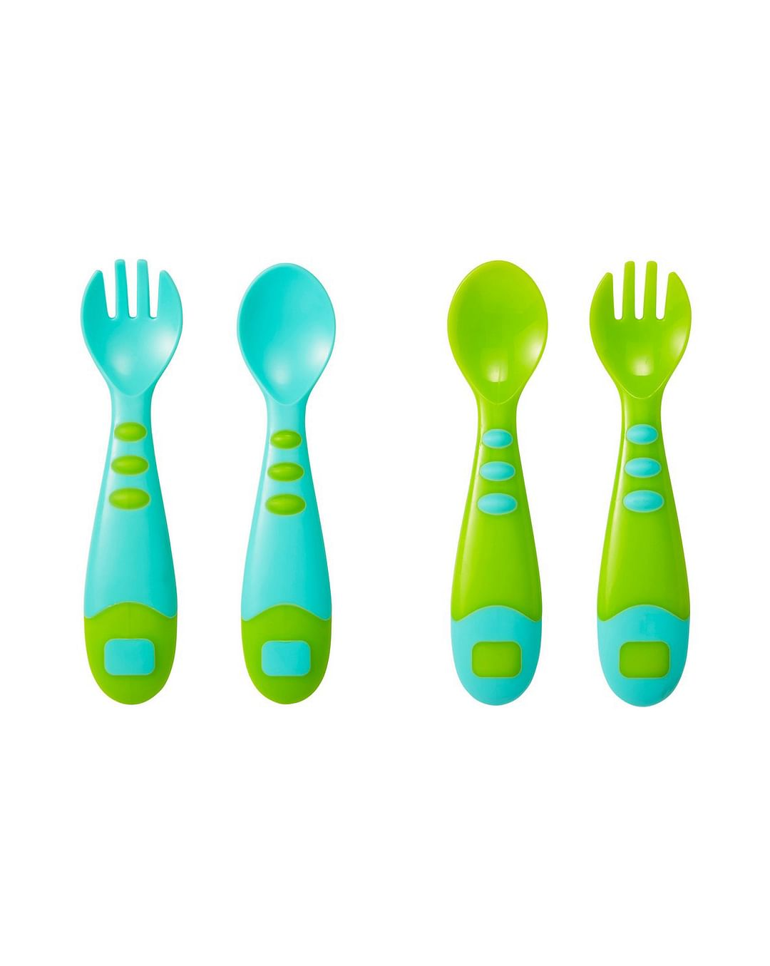 Mothercare | Easy Grip Spoon and Fork - 4 Pieces Set