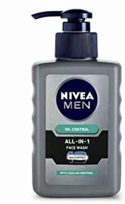 Nivea | NIVEA All-In-1 Oil Control Face Wash  (150 ml)