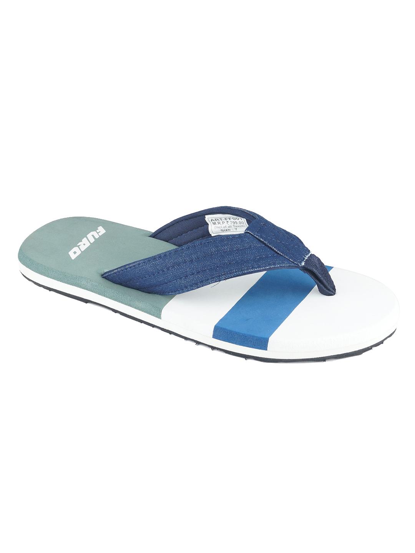 Furo | Furo Navy Blue/Grey Flip-Flop For Men FF001 793