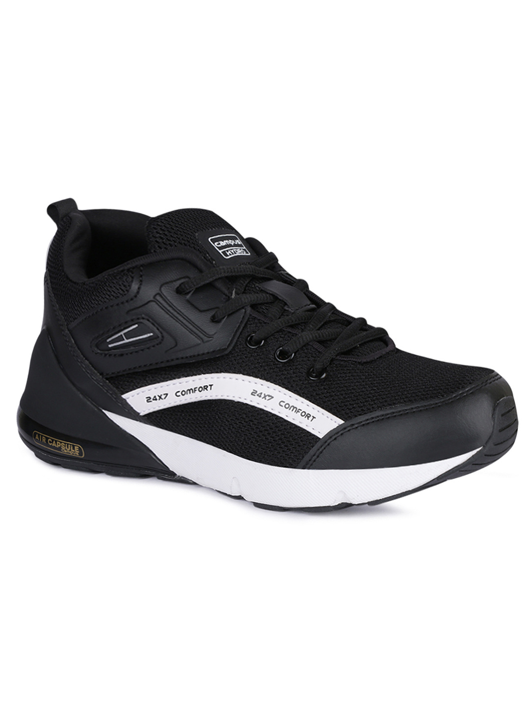 Campus Shoes | Black Hydro Running Shoes