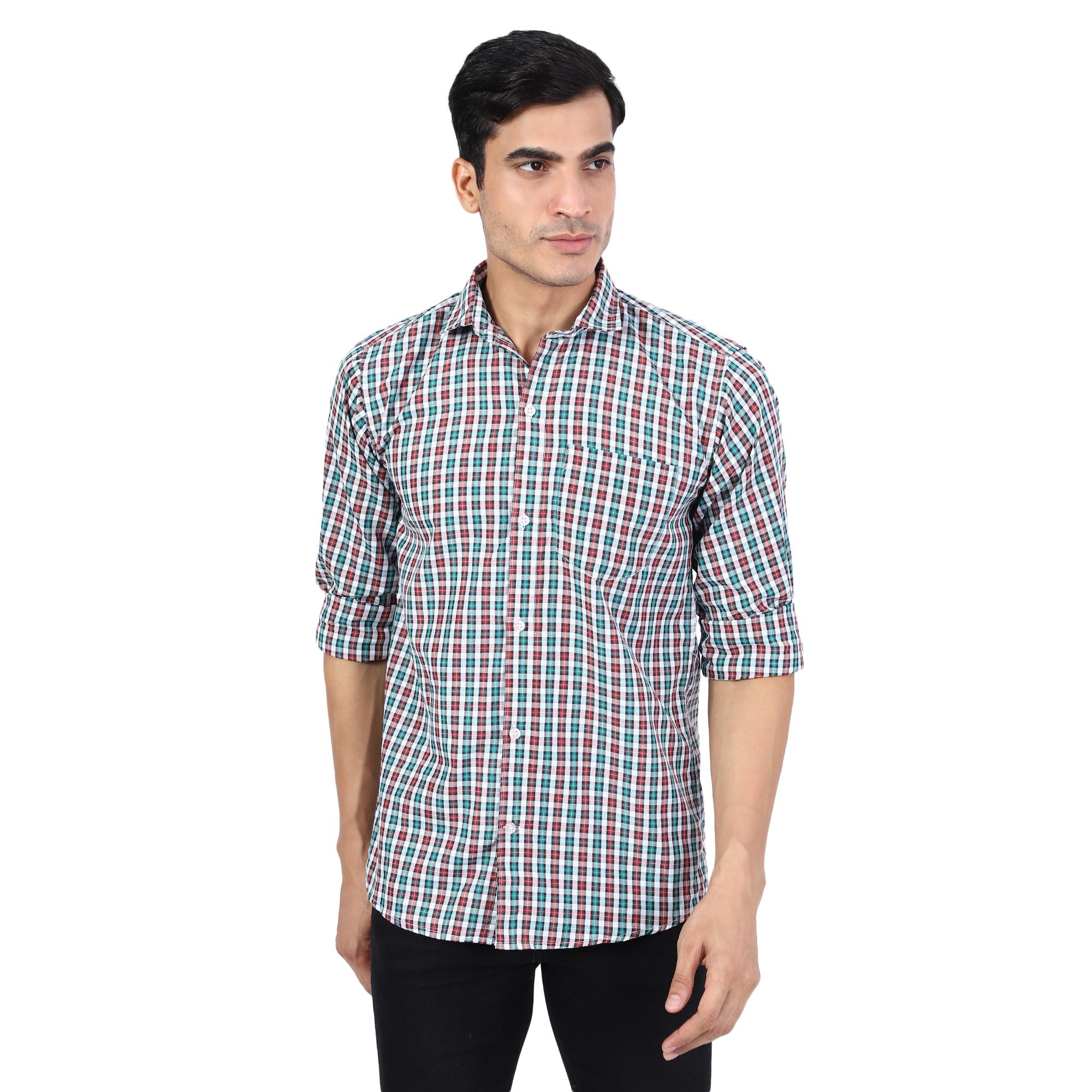 TAHVO | TAHVO Men Casual Cotton Shirt