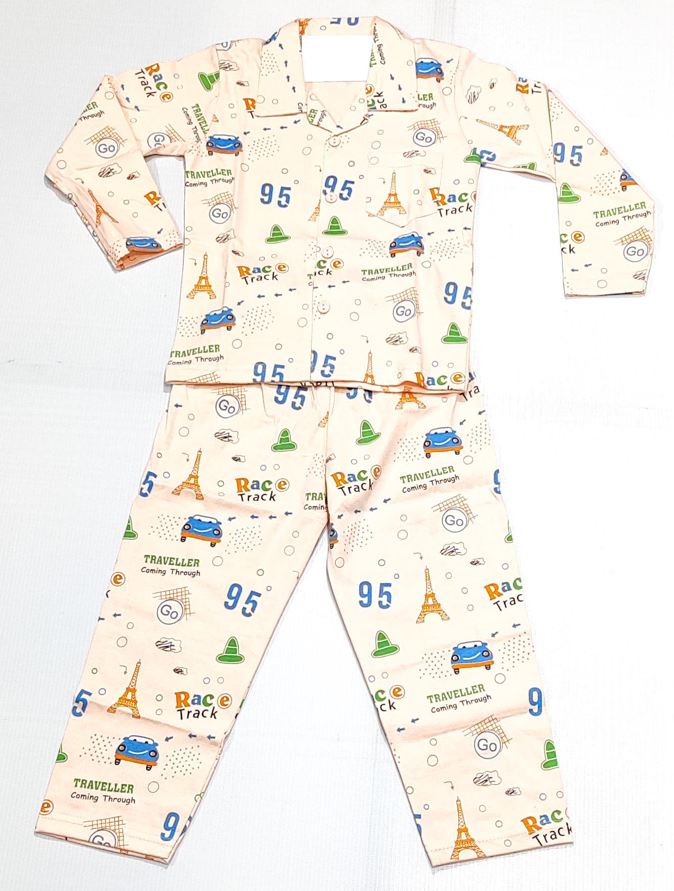 AAAKAR   Stylish Travel Printed Full Sleeve Top and Pyjama Set