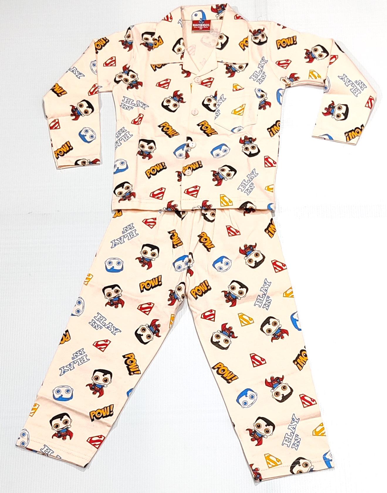 AAAKAR | Stylish Superman Printed Top and Pyjama Set