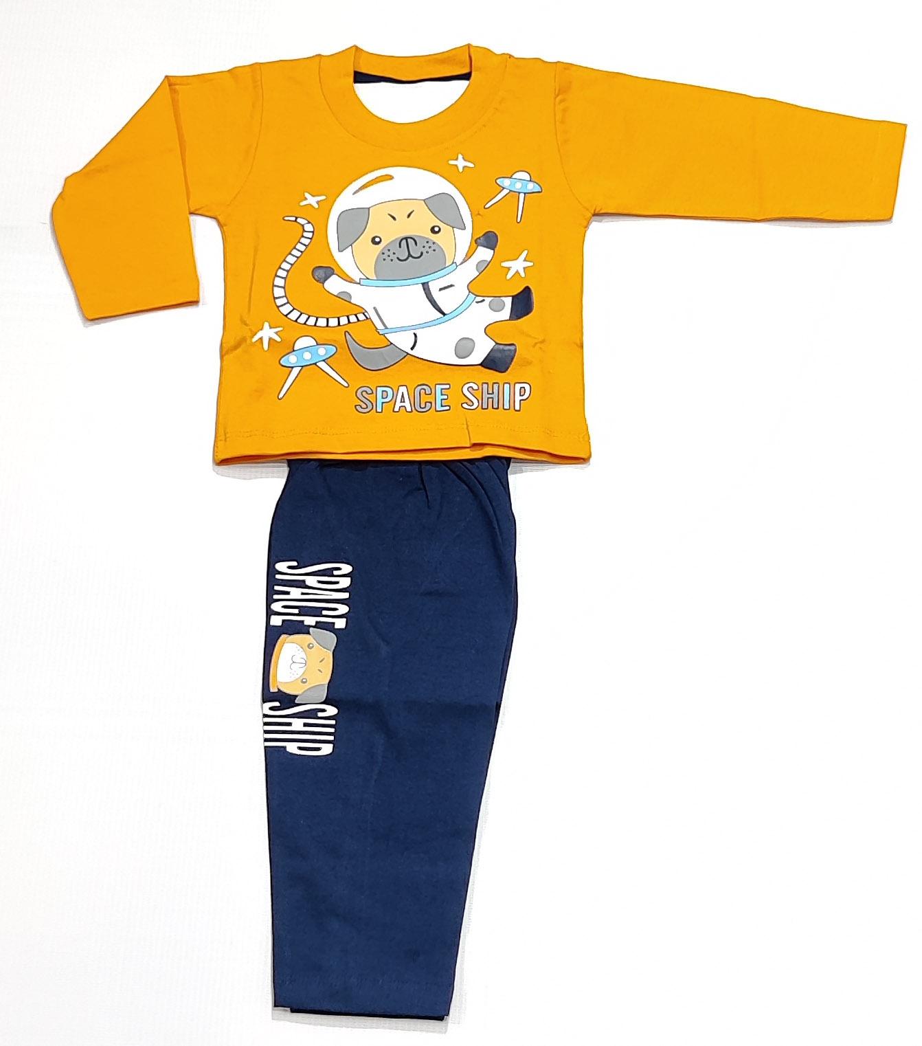 AAAKAR | Stylish Pug Printed Full Sleeve T-Shirt and Pyjama Set