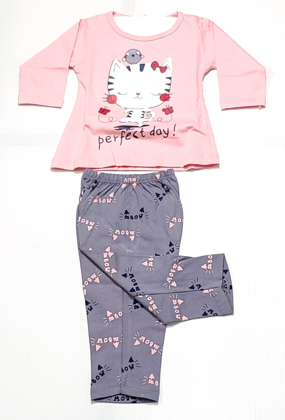 AAAKAR | Girl's Stylish Graphic Printed Cotton Blend NightSuit Set