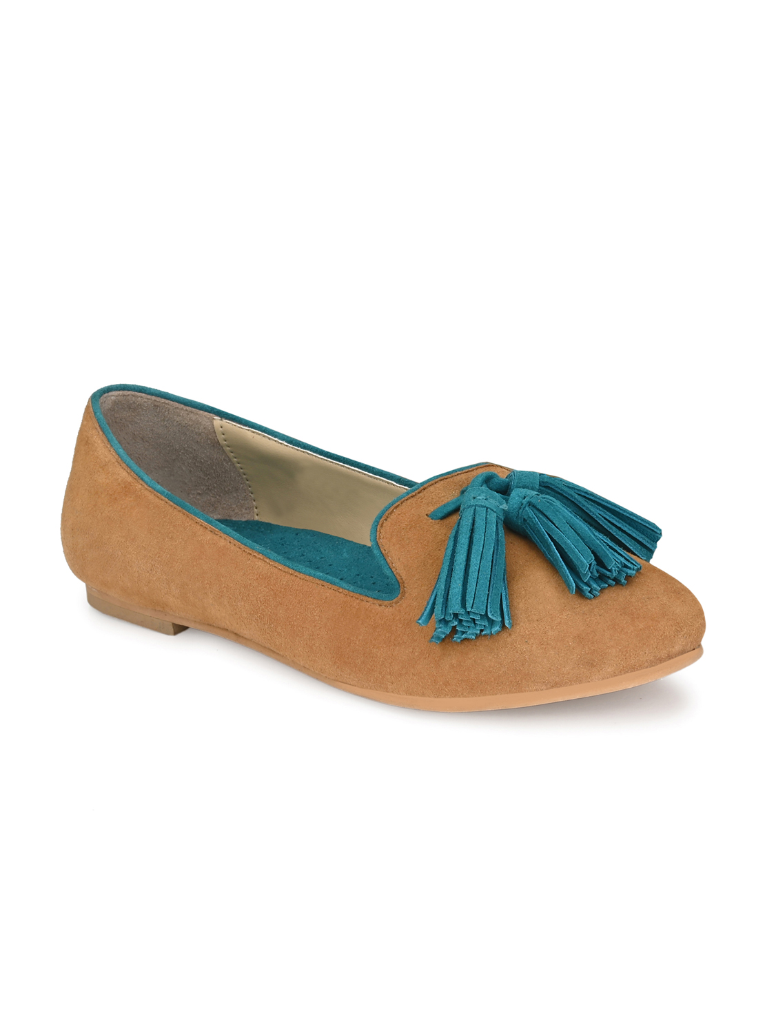 AADY AUSTIN | Aady Austin Women's Trendy BEIGE Round Toe Flats