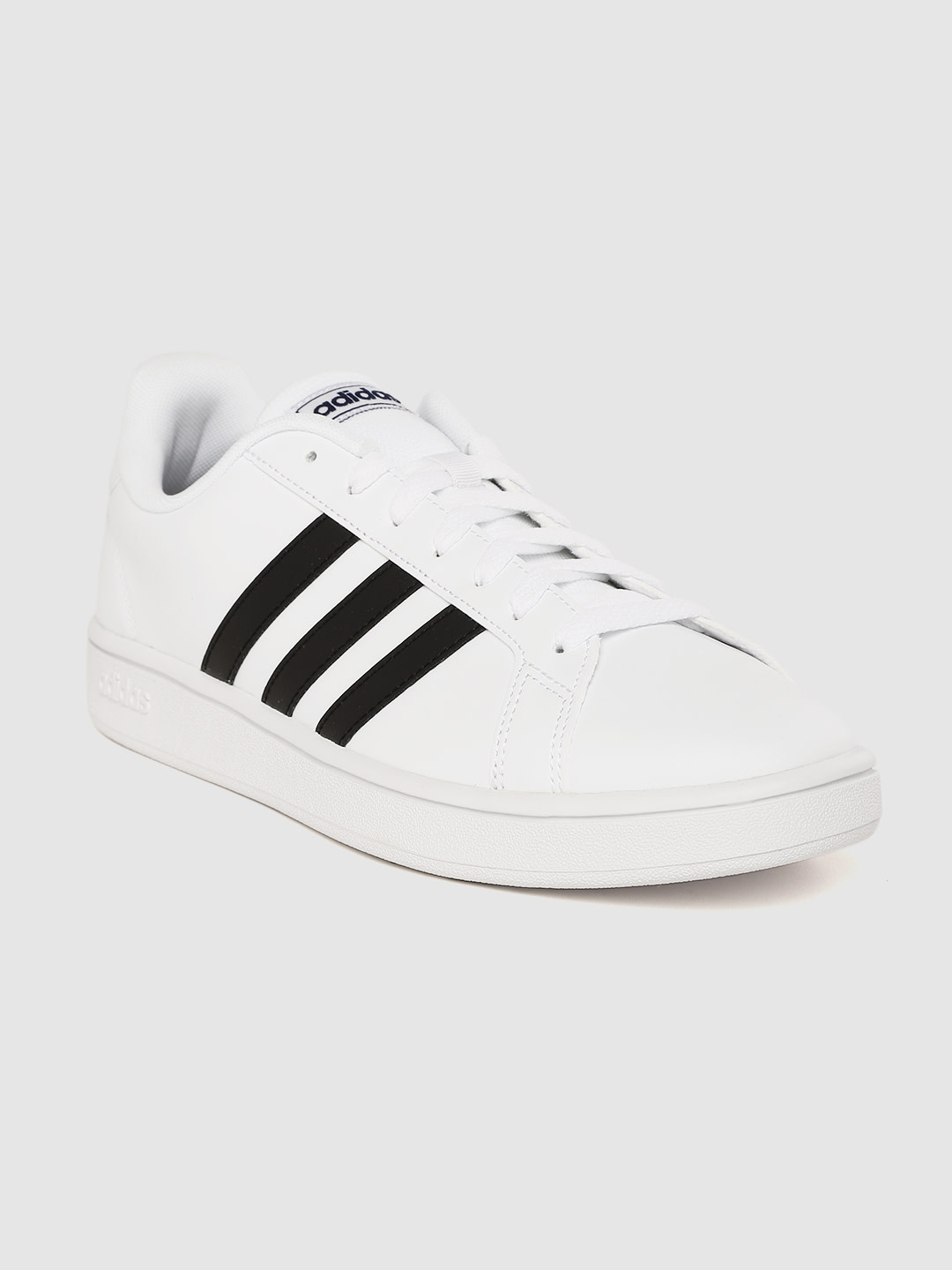 adidas | ADIDAS Men Solid Grand Court Base Tennis Shoes