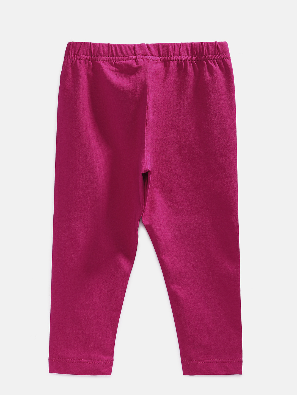 Ethnicity | Ethnicity Ankel Length Fashion Kids Coral Knit Legging