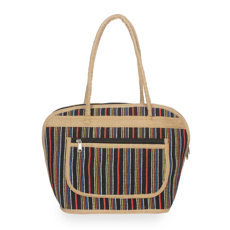 Aliado | Aliado Textile MultiColor Zipper Closure  Handbags