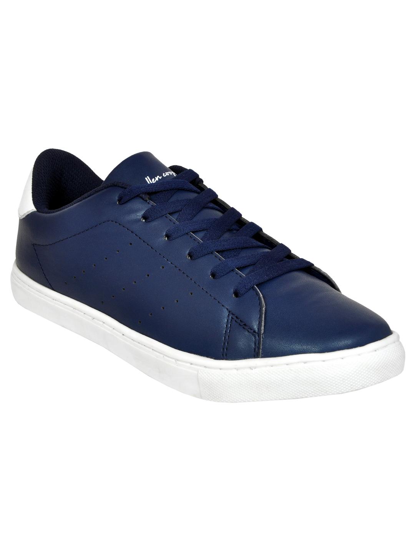 Allen Cooper   Allen Cooper Navy Blue Sneakers For Men