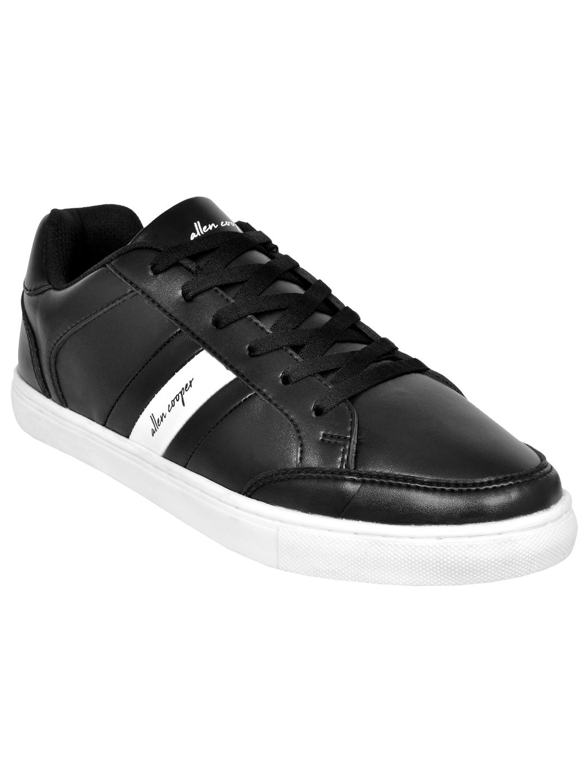 Allen Cooper   Allen Cooper Black Sneakers For Men