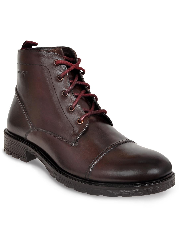 Allen Cooper | Allen Cooper Burgundy Boots For Men