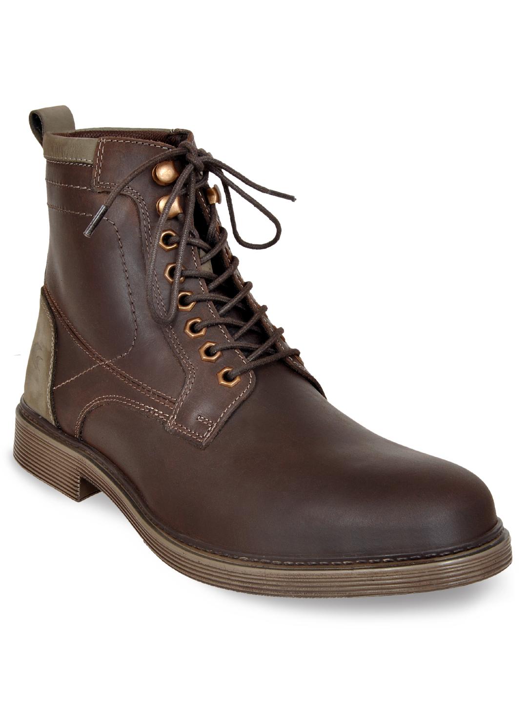 Allen Cooper | Allen Cooper Leather Boots For Men