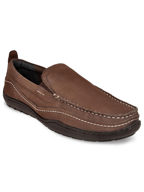 Allen Cooper   Allen Cooper Brown Casual Loafers For Men