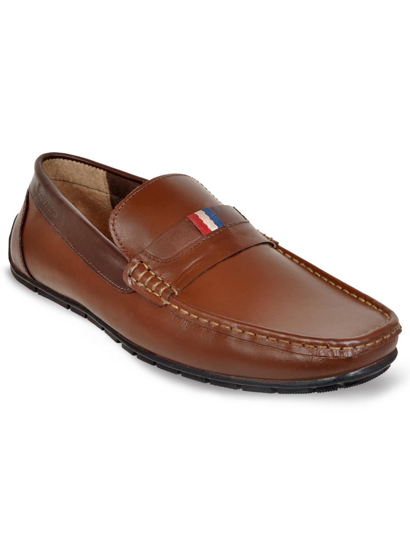 Allen Cooper   Allen Cooper Brown Loafers For Men