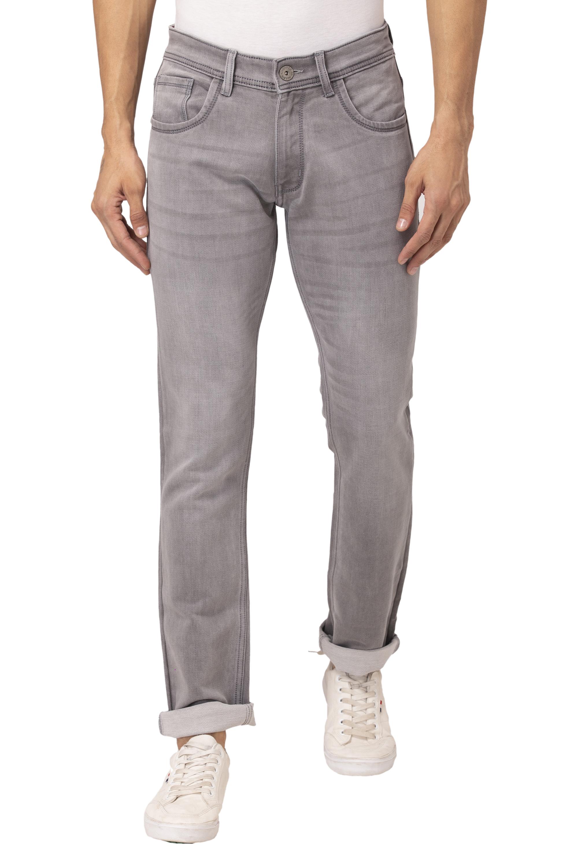 Allen Cooper | Allen Cooper Darkblue Denim Jeans for Men