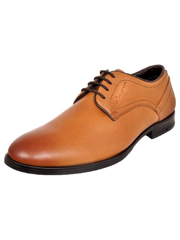 Allen Cooper | Allen Cooper Tan Formal Shoes For Men