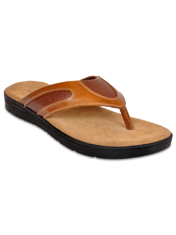 Allen Cooper   Allen Cooper Leather Slippers For Men