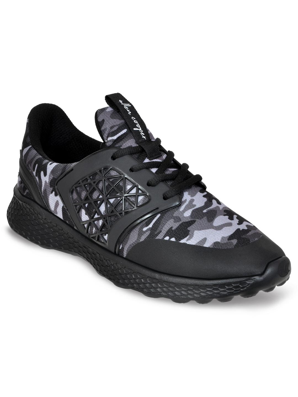 Allen Cooper   Allen Cooper Army Black Sports Shoes For Men