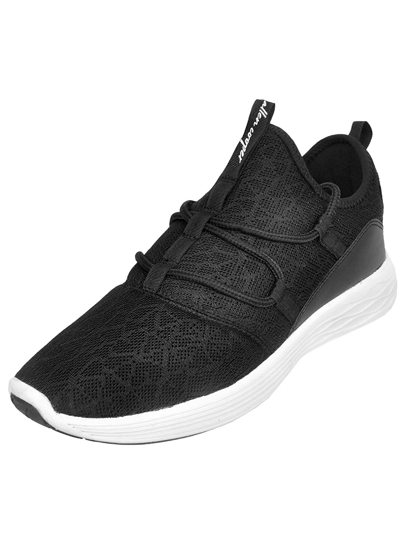 Allen Cooper | Allen Cooper Black Sports Shoes For Men
