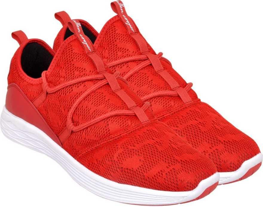 Allen Cooper   Allen Cooper Red Sports Shoes For Men