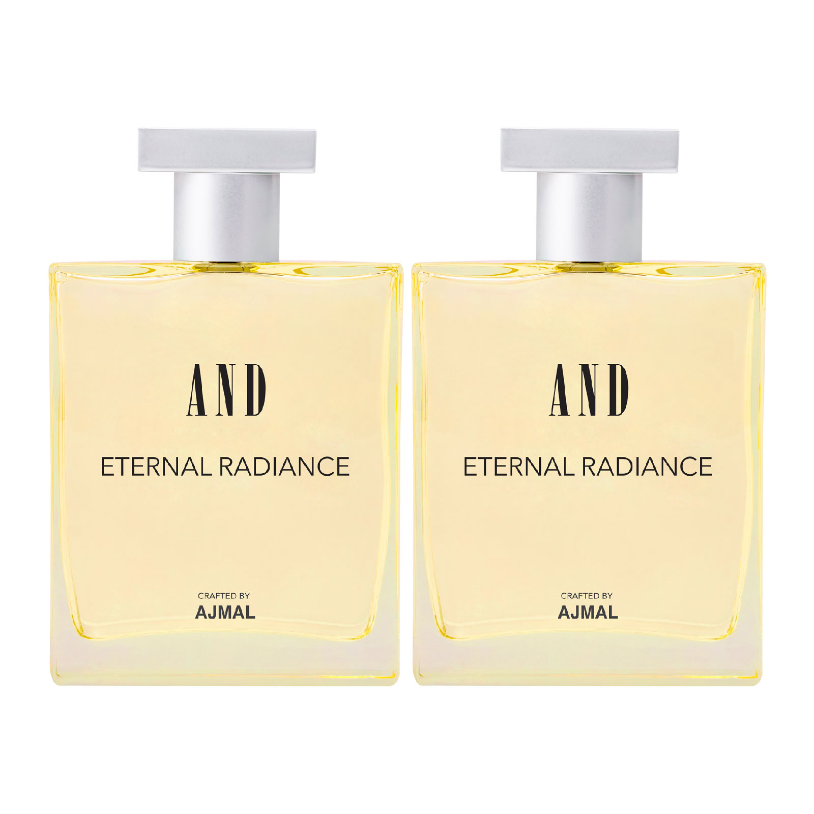 AND Crafted By Ajmal | AND Eternal Radiance Pack of 2 Eau De Parfum 50ML each for Women Crafted by Ajmal + 2 Parfum Testers
