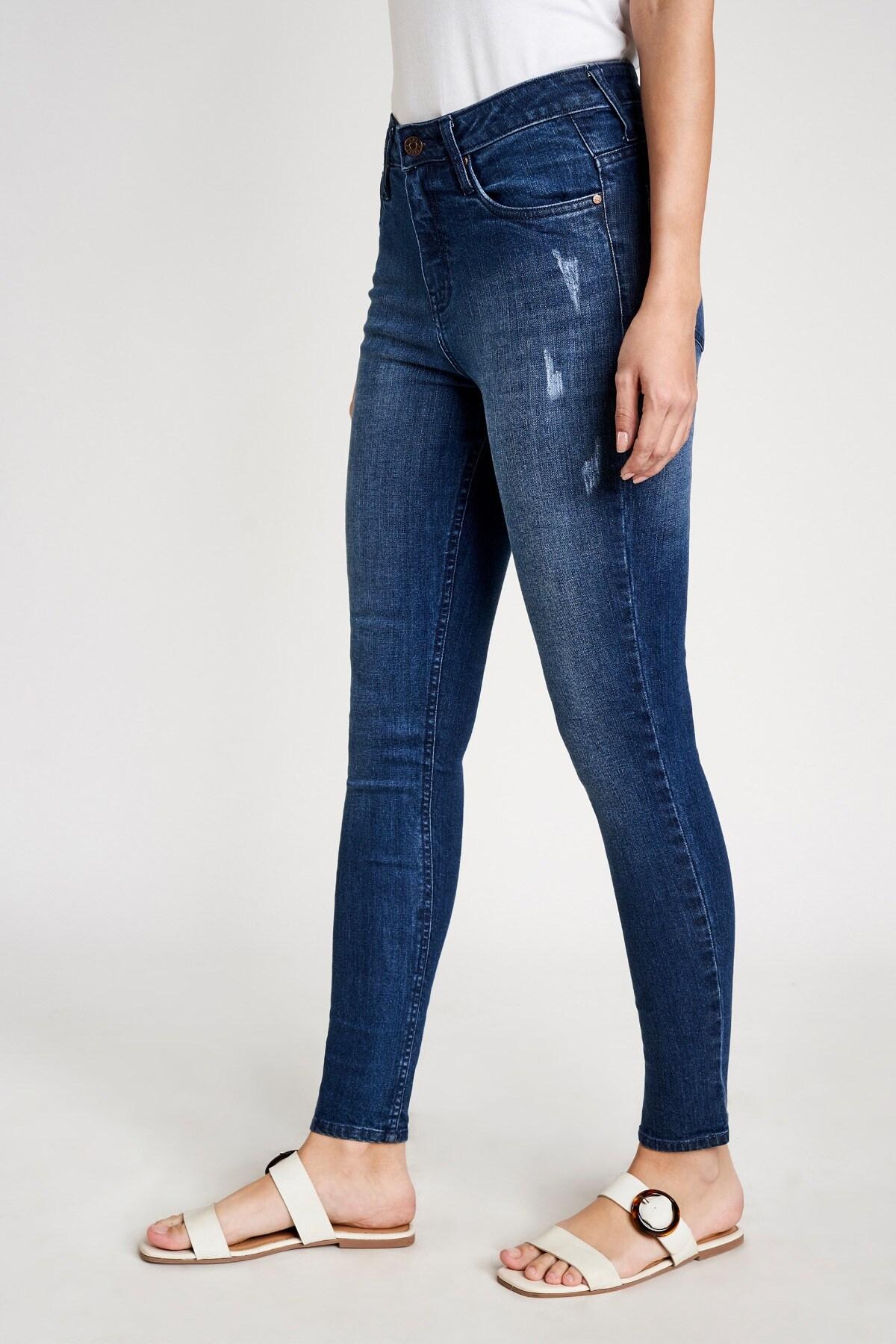 AND   Nora Dark Blue Skinny Jeans