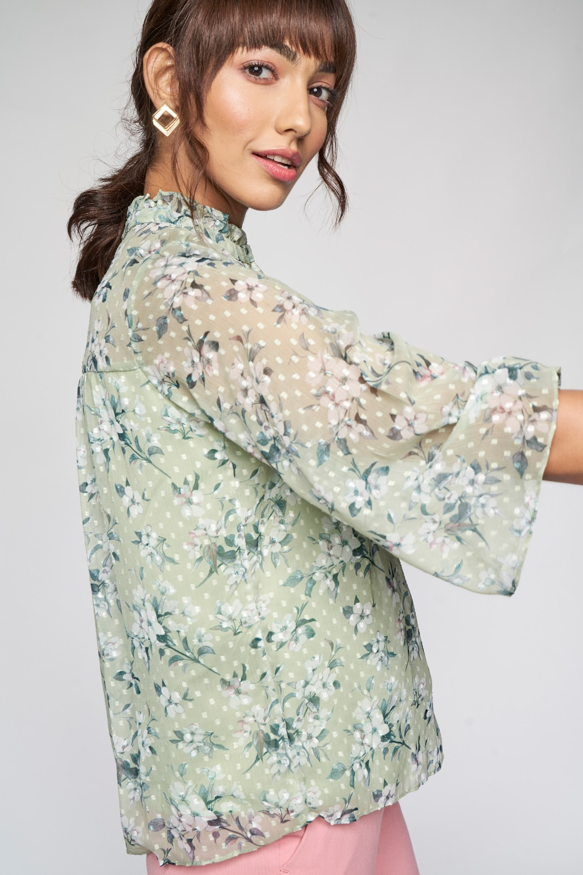 AND | SAGE GREEN & TOP
