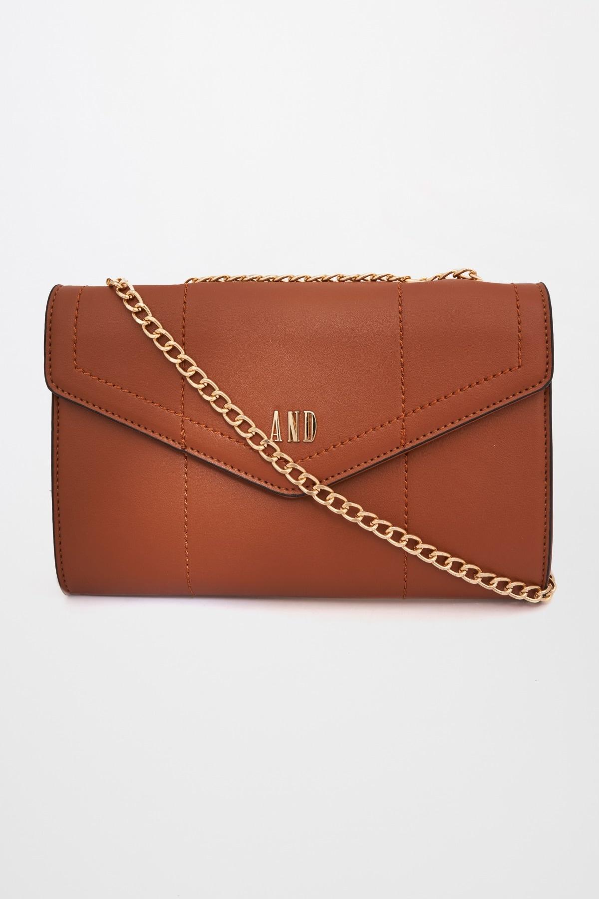 AND | Tan Sling Handbag