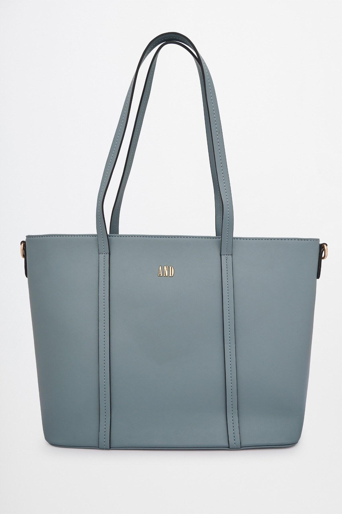 AND | Powder Blue Tote Handbag