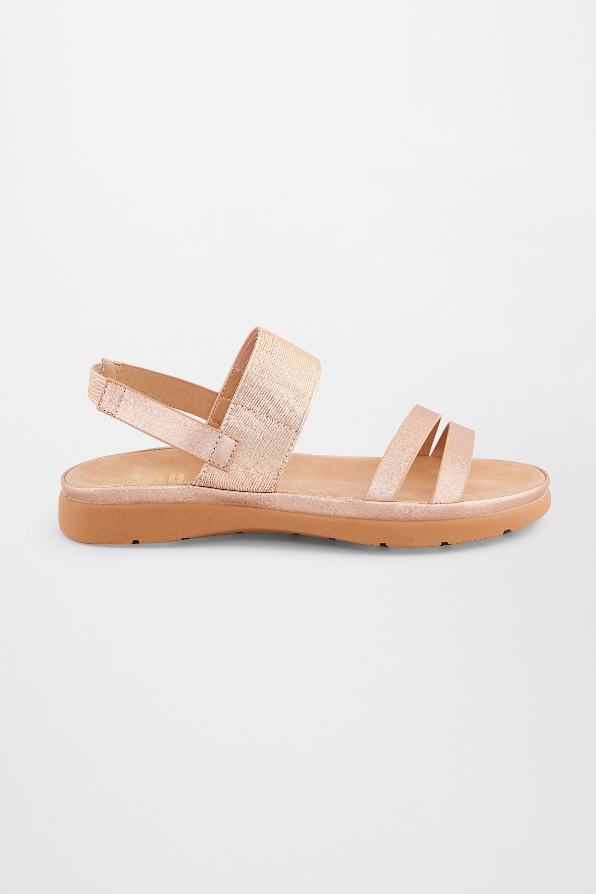 AND   Golden Sandals