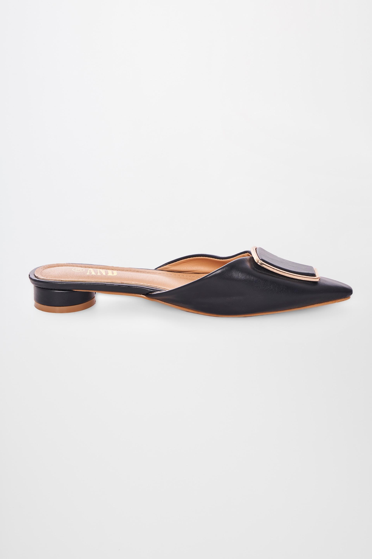 AND   Black Footwear