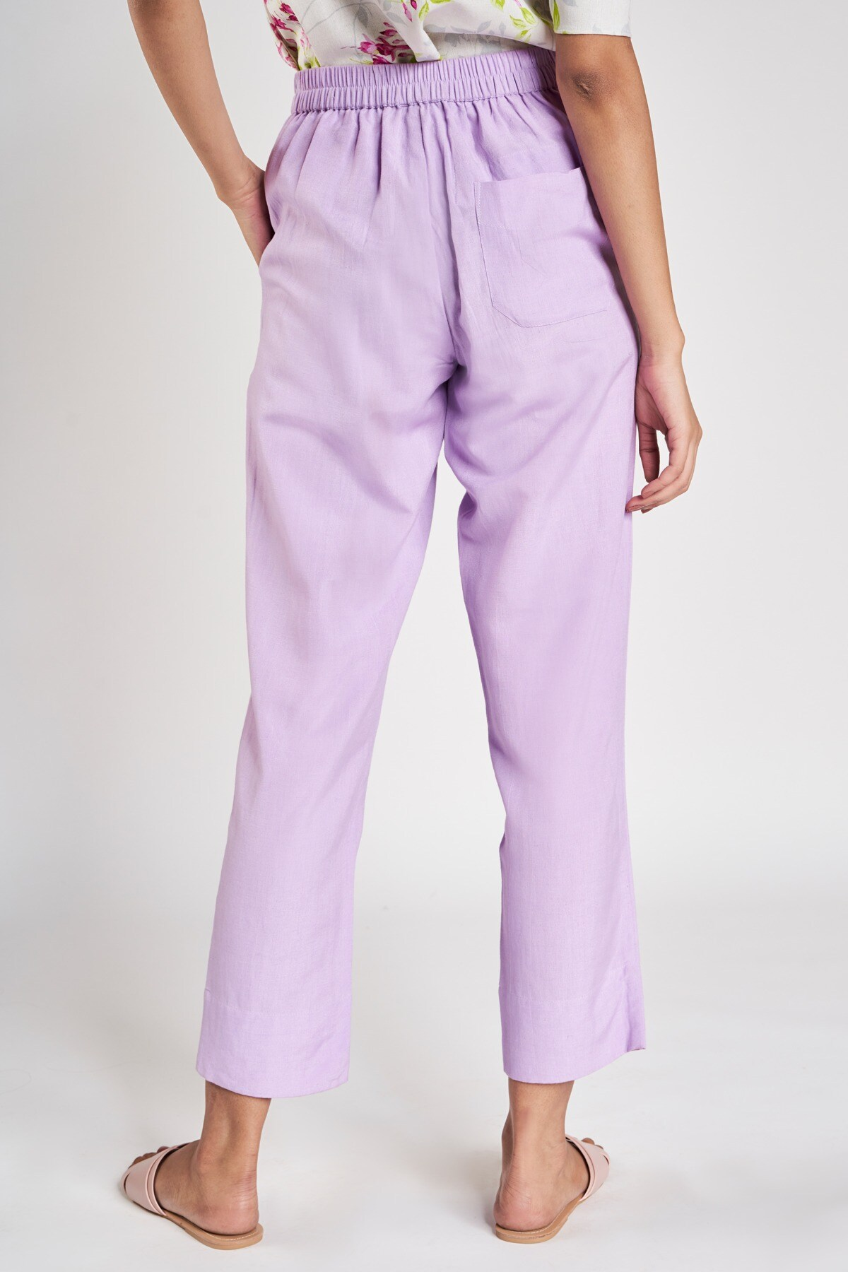 AND   Lilac Solid Bottom