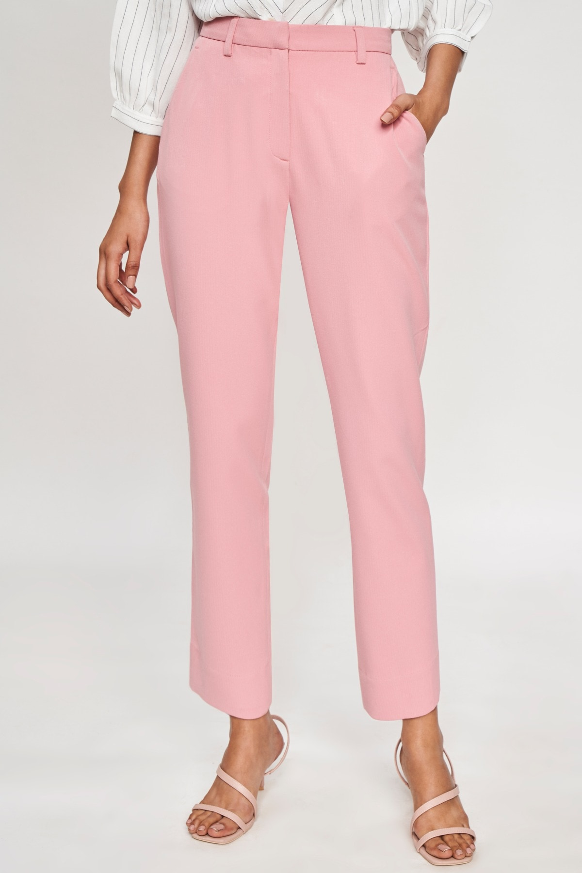 AND | Light Pink Solid  Bottom