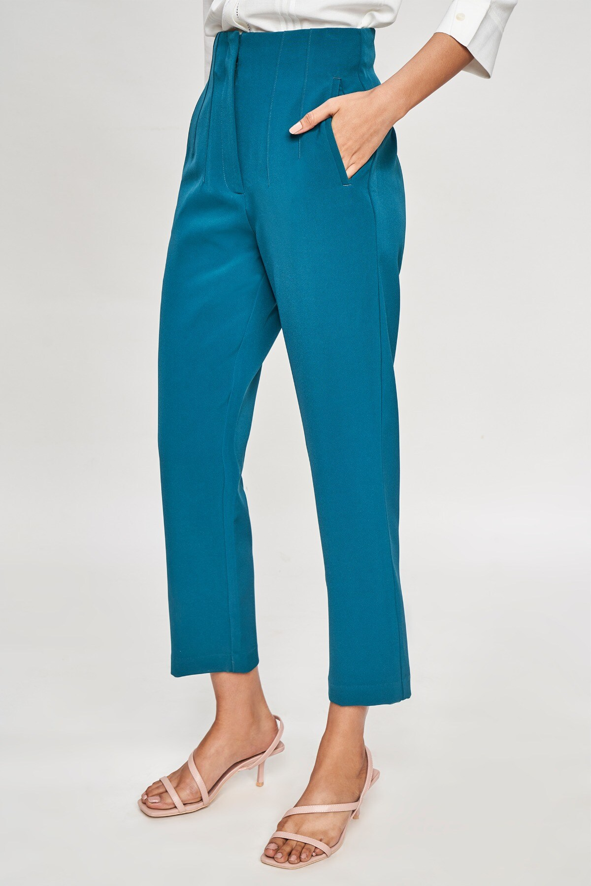 AND   Teal Solid  Bottom
