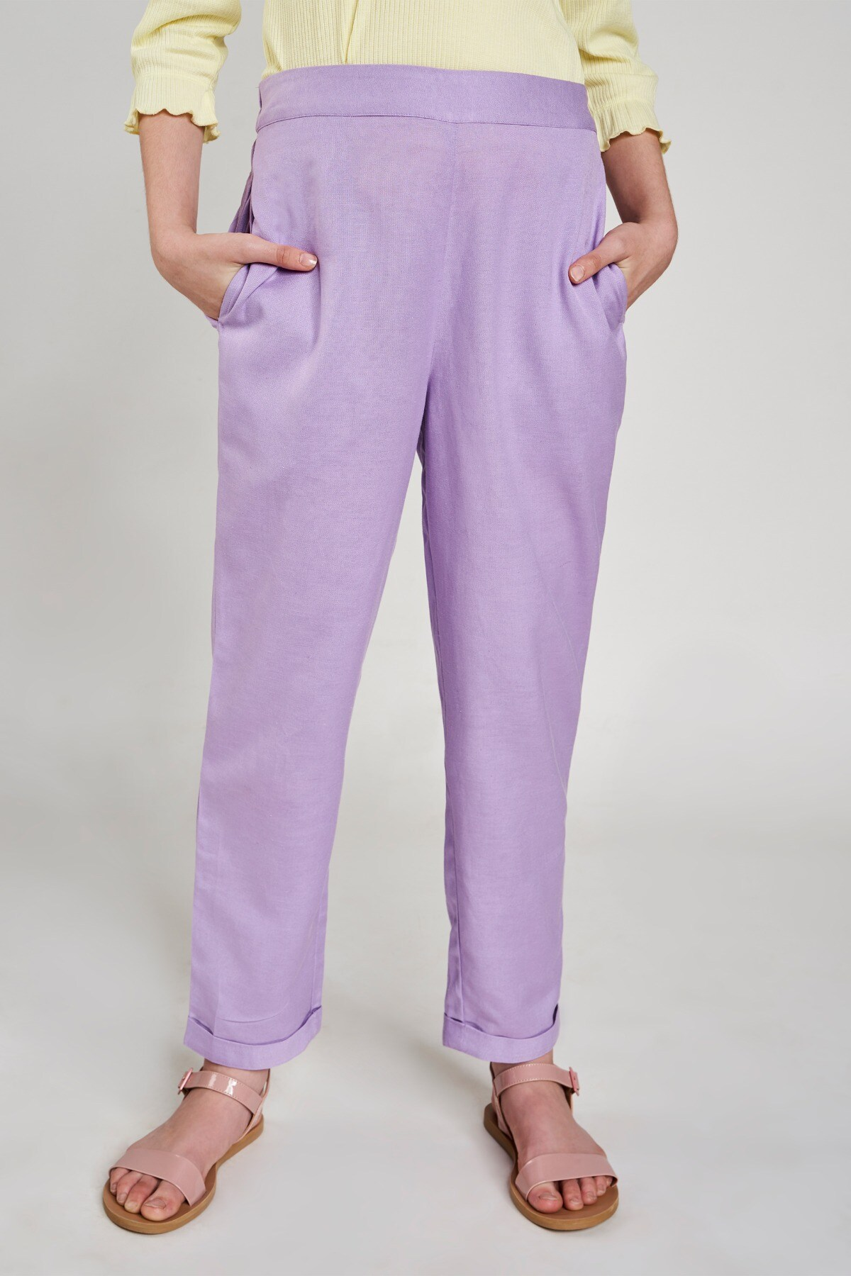 AND | Lilac Solid  Bottom