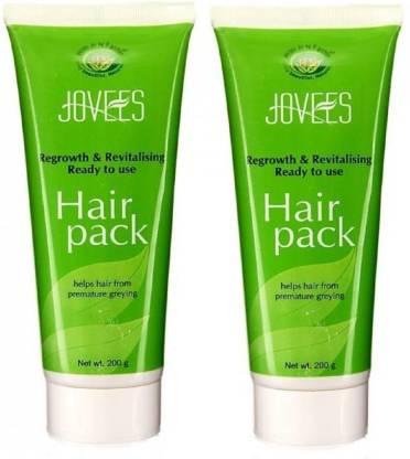 Jovees | JOVEES Regrowth & Revitilising Hair Pack For Hair Growth (200gx2)