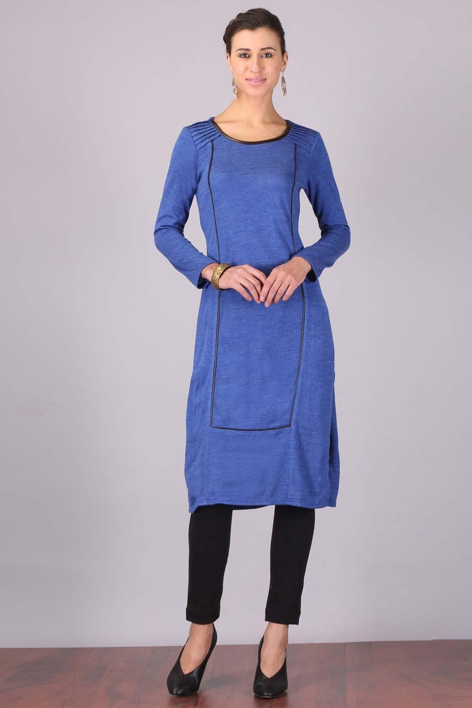 Aurelia | Aurelia Women Blue Color Kurta