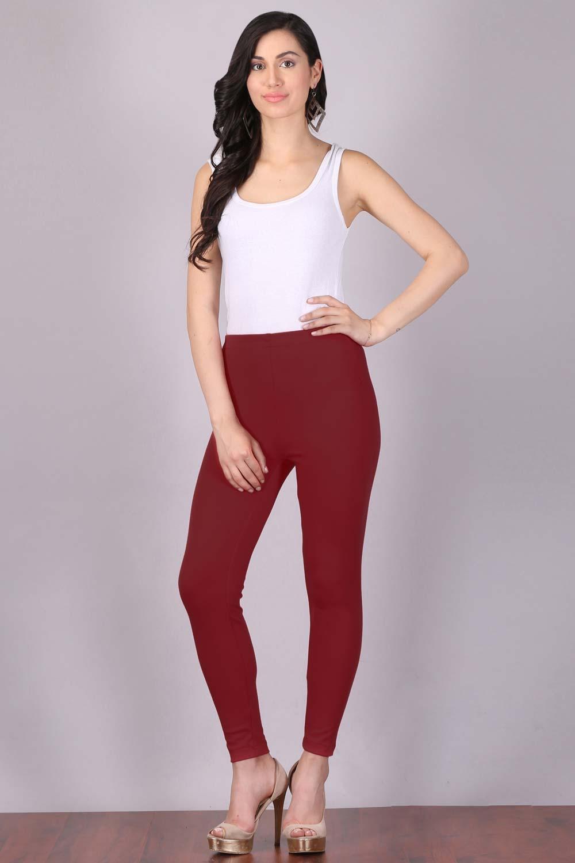 Aurelia   Aurelia Women Red Color Tights