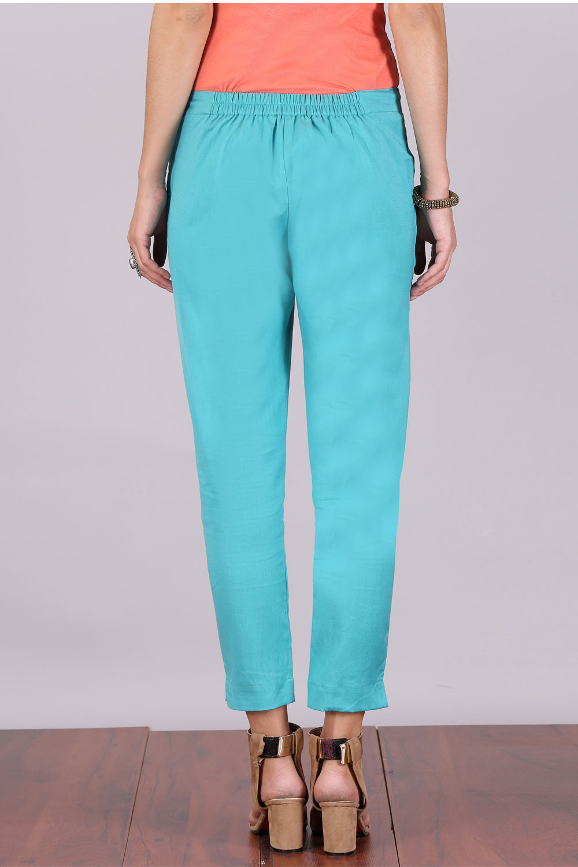 Aurelia   Aurelia Women Blue Color Trouser