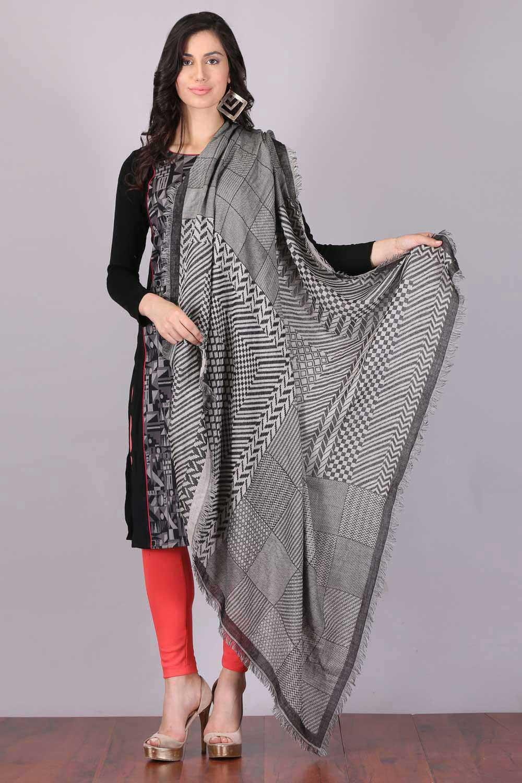 Aurelia   Aurelia Women Grey Color Scarf