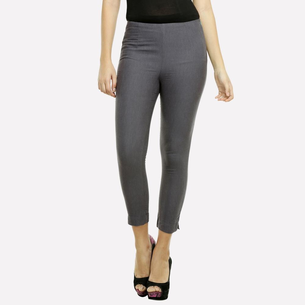 Aurelia   Aurelia Women Grey Color Trouser