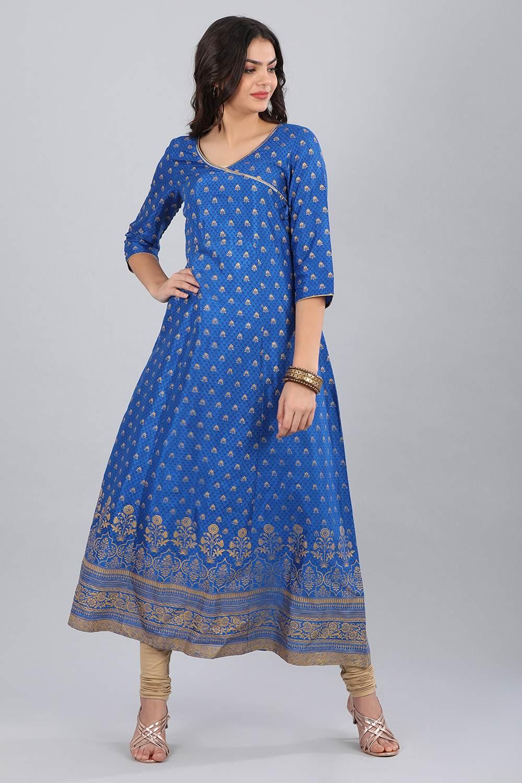 Aurelia   Aurelia Women Blue Color Kurta