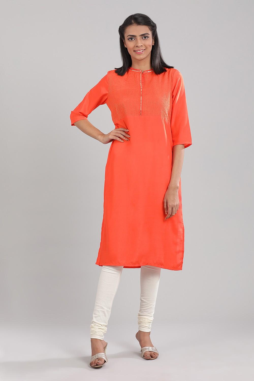 Aurelia | Aurelia Women Orange Color Kurta