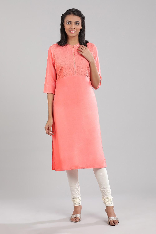 Aurelia | Aurelia Women Pink Color Kurta