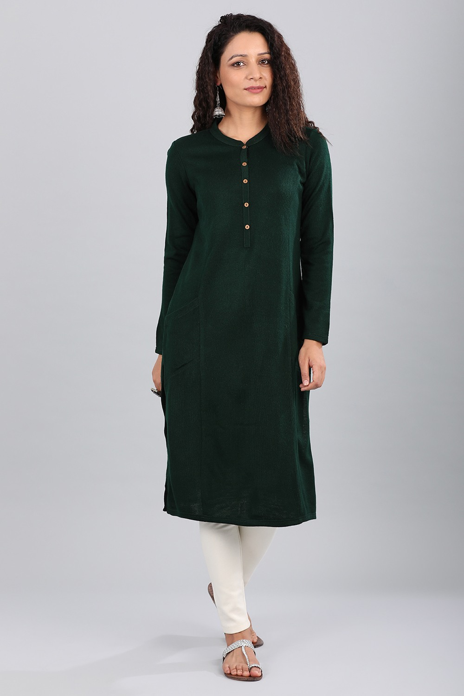 Aurelia | Aurelia Women Green Color Kurta
