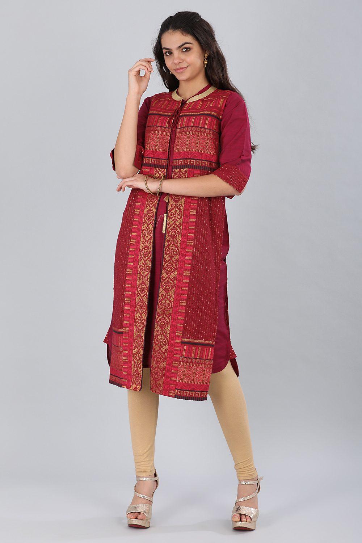 Aurelia | Aurelia Women Red Color Gilet