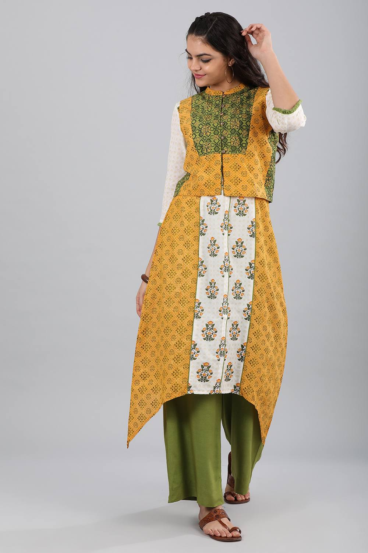 Aurelia | Aurelia Women Green Color Gilet